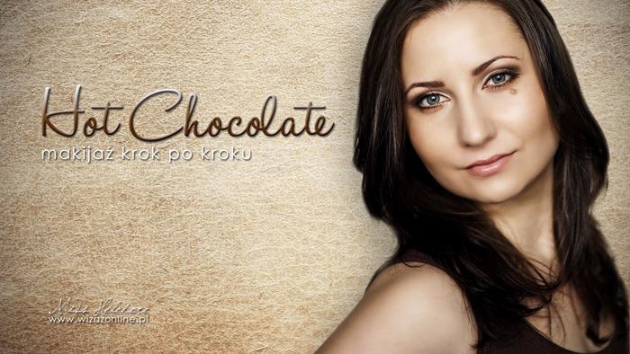 """Makijaż w brązach """"Hot Chocolate"""" – krok po kroku"""