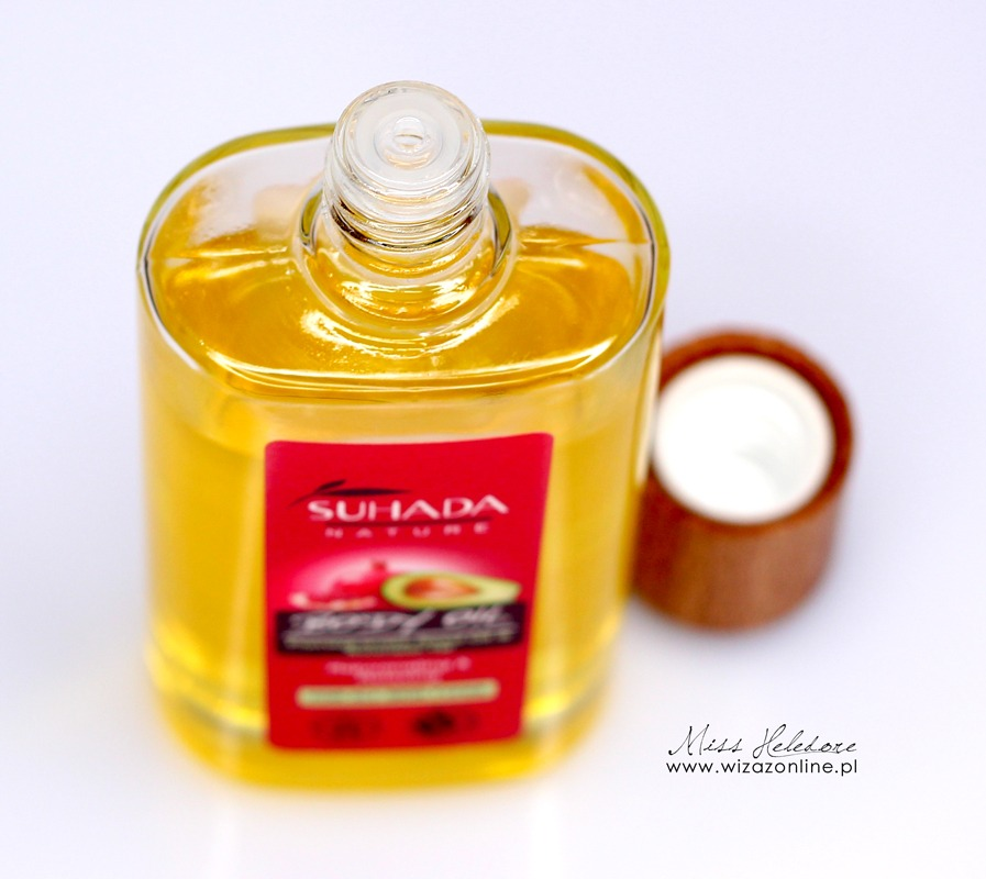Olejek do ciała Suhada Nature - granat i awokado [Recenzja]