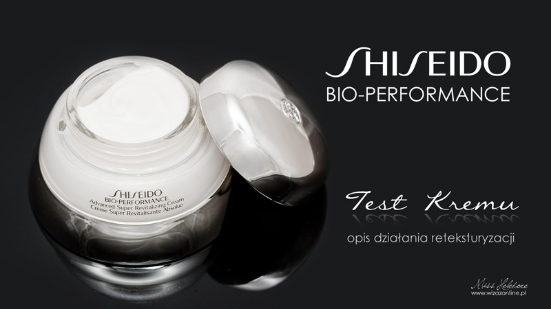 Krem Shiseido Bio-Performance Super Revitalizing Cream - opis działania