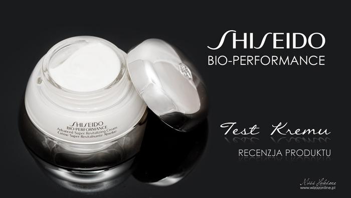 Shiseido Bio-Performance Super Revitalizing Cream - Recenzja