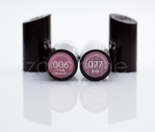 2 szminki Rimmel: Pink Blush i Asia