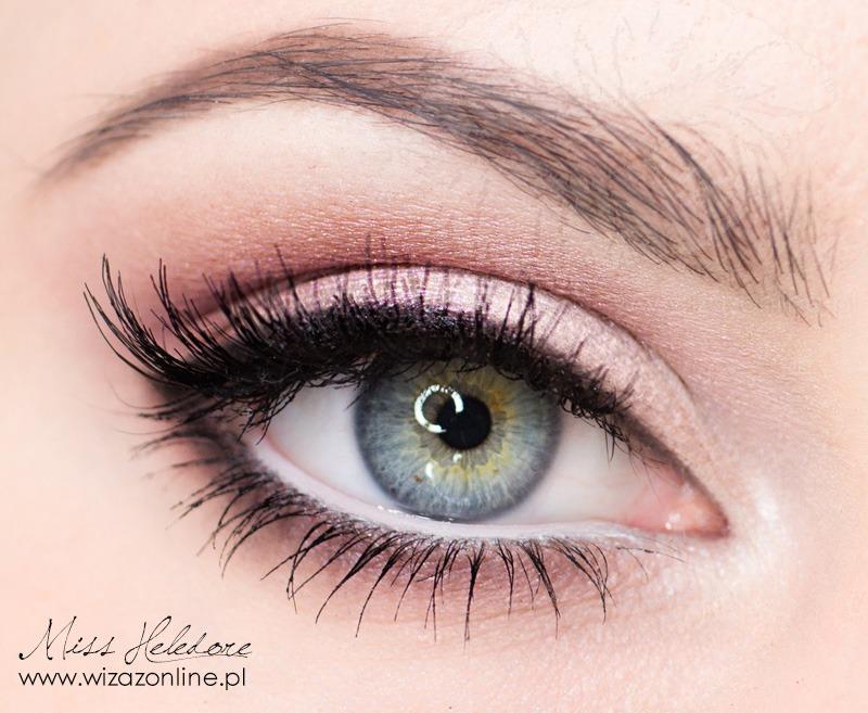 Delikatny makijaż dzi... Natural Eyeshadow Tutorial