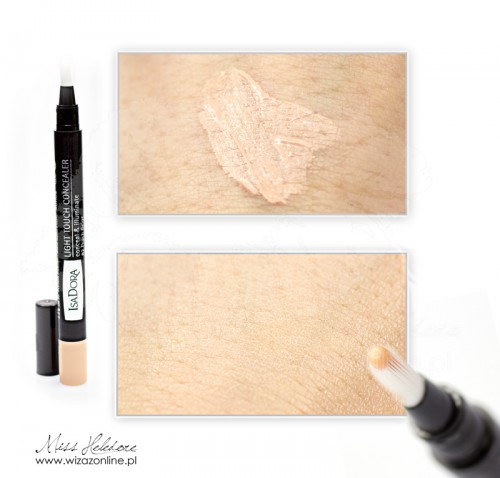 IsaDora Light Touch Concealer swatch