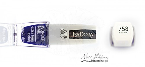 IsaDora Wonder Nail 758 Aquatic