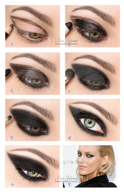 cateye smoky step by step