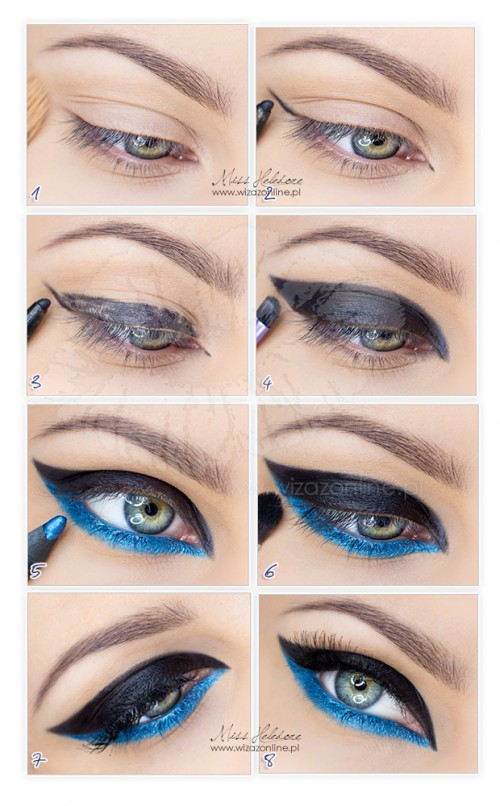 Chanel Cruise Collection 13/14 makeup - step by step tutorial