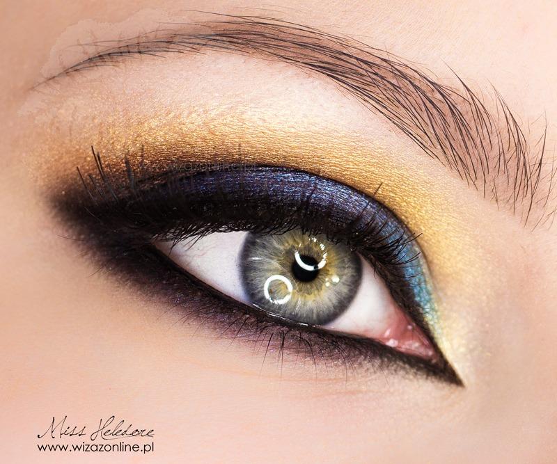 Egzotyczny makijaż: multikolor na koniec lata!