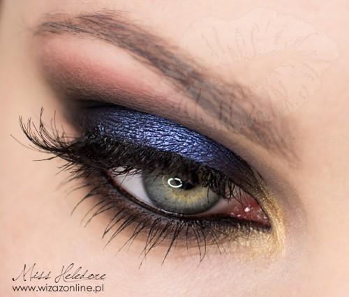 Makijaż z wybiegu: Jeremy Scott Spring 2013 wizaż: Monika Mitraszewska