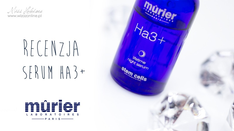Murier Ha3+ lifetime night serum - recenzja