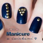 Manicure z ćwiekami – nail studs